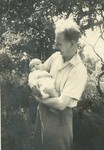 Dad and me, June 55