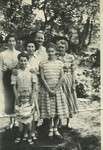 The Clapson Clan - including Nana (far right)