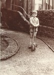 Scooter boy at Ravenswood Road
