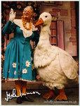 John Inman in 'Mother Goose'